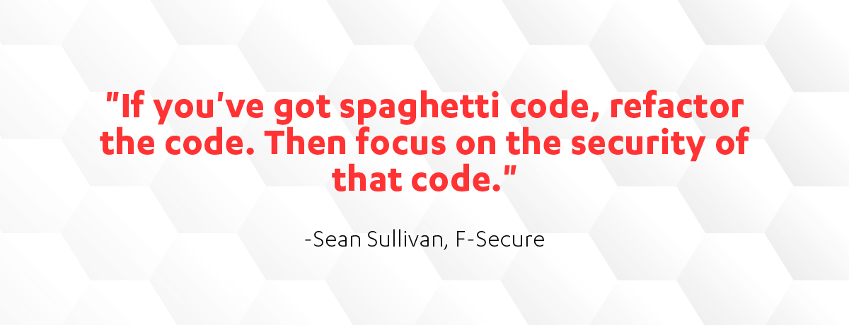 F-Secure's Sean Sullivan on election security
