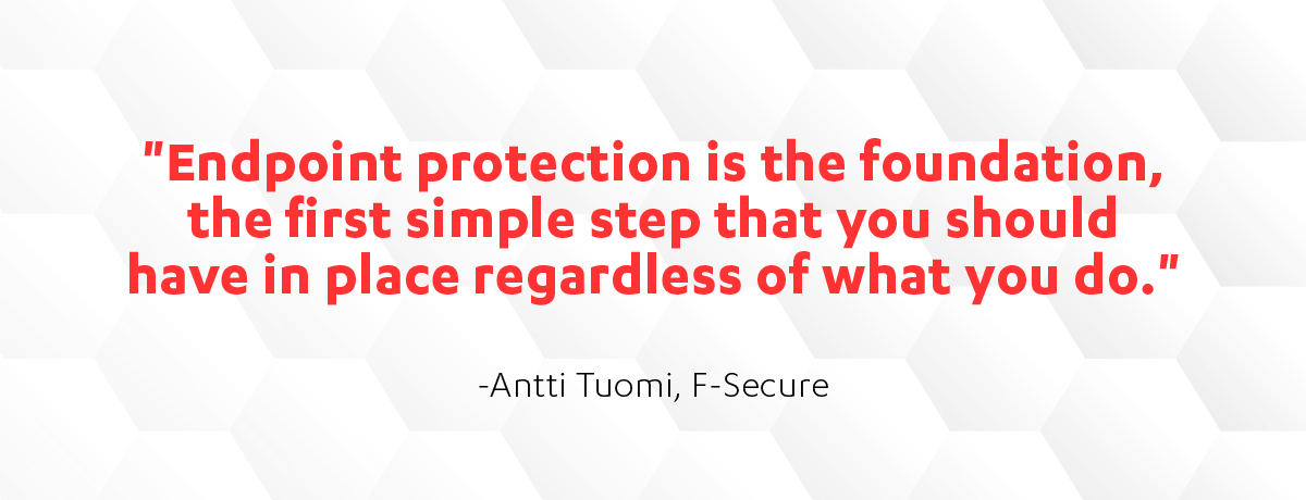 Endpoint protection is the foundation for business security