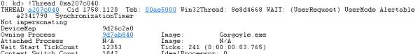 windbg thread