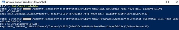 4 windows powershell junction folder b